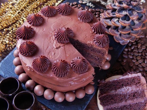 Noworoczny tort truflowy