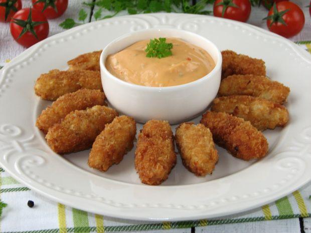 Nuggetsy z kurczaka w krakersach