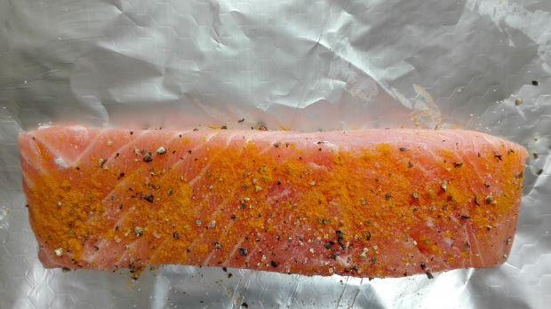 Obiad nr 5 Łosoś w pomarańczach Dieta 1200 kalorii