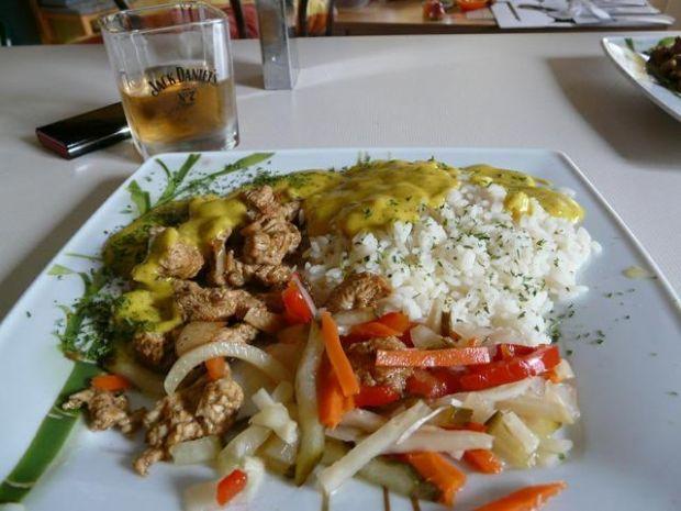 Obiadek z sosem Curry