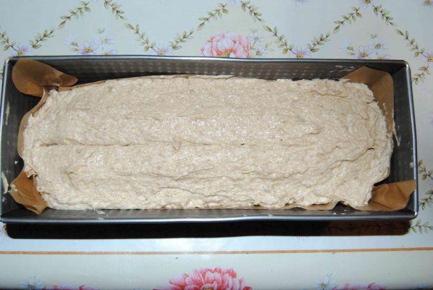 Odchudzone bananowo- orzechowe  ciasto