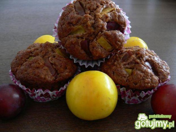 Odchudzone muffinki ze śliwką