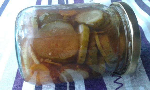 Ogórki żydowskie z marchewką