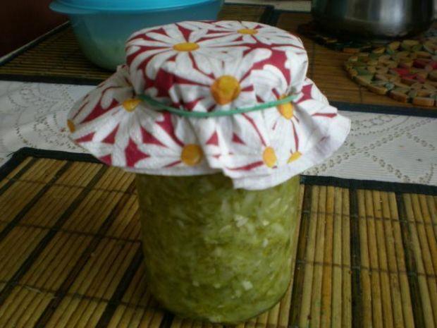 Ogórkowa sałatka