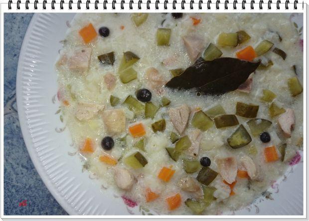 Ogórkowa zupa Eli z ryżem