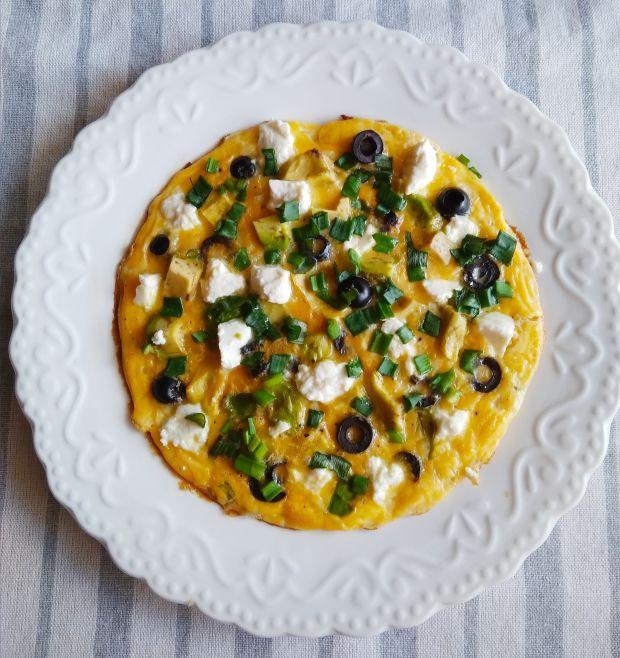 Omlet ( Frittata) z awokado