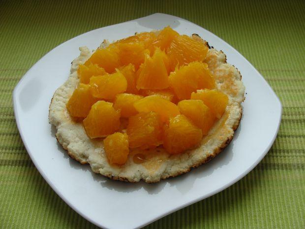 Omlet kokosowy z pomarańczą