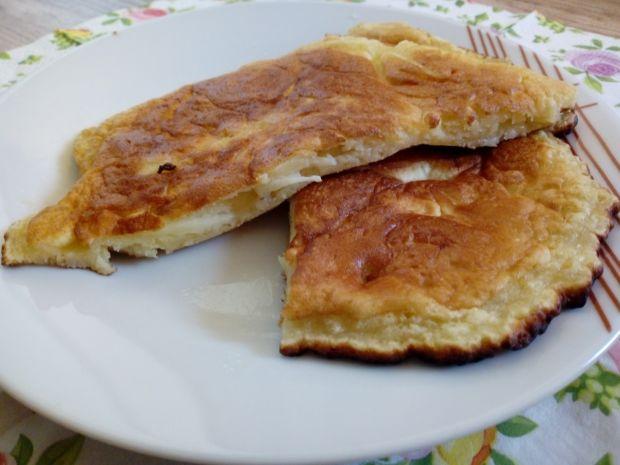 Omlet na słodko z jabłkiem
