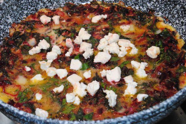 Omlet z botwinki