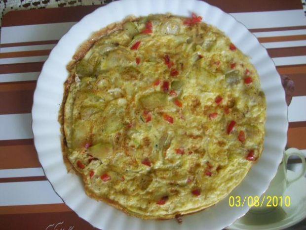 Omlet z cukinią