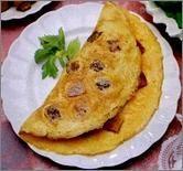 Omlet z grzankami