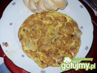 Omlet z pieczarkami 9
