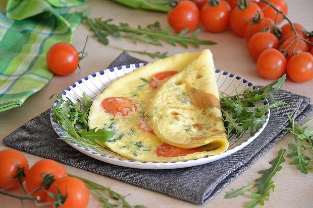 Omlet z rukolą