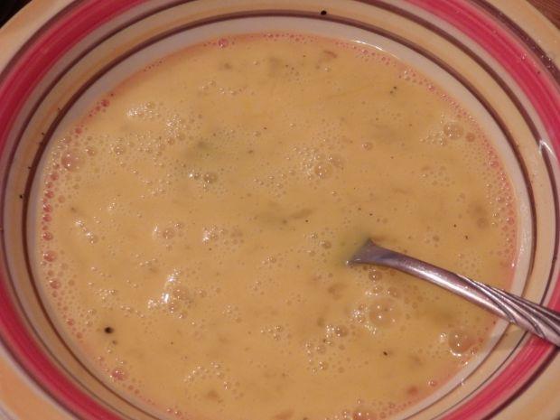 Omlet ze szparagami i fetą
