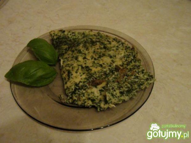 Omlet ze szpinakiem 4