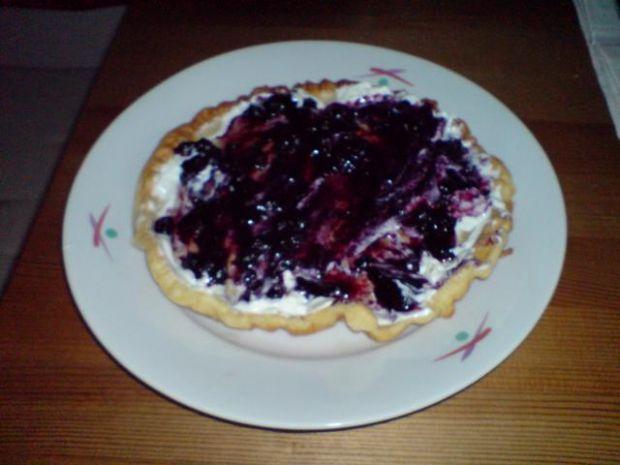 Omleto-placki z serkiem i owocami