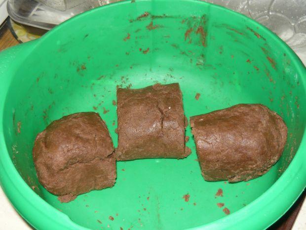 Orzechowiec z dużą ilością frużeliny
