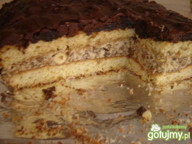 Orzechowo śliwkowo czekoladowy przysmak