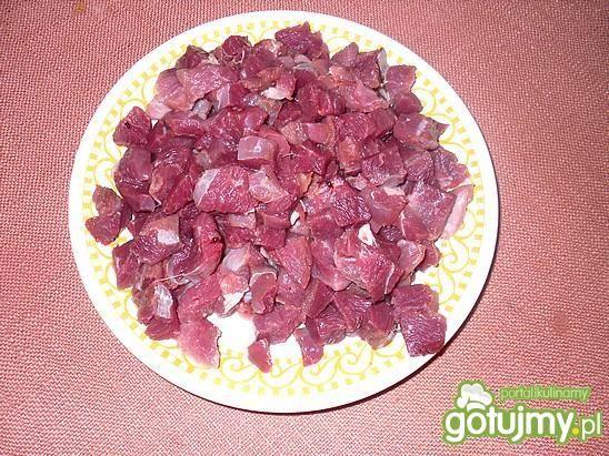 Ostra sałatka z gęsim mięsem