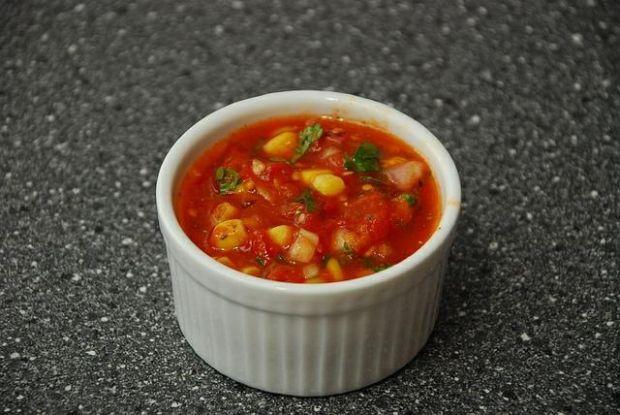 Ostra Salsa z Pomidorów
