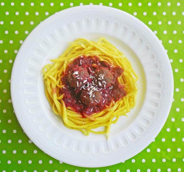 Oszukane spaghetti z klopsikami