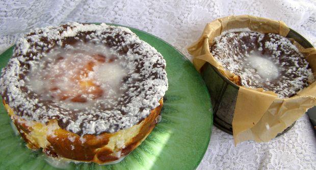 Oszukany sernik cytrynowo-kokosowy