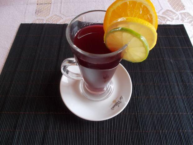 Owocowy napój na chłodne dni