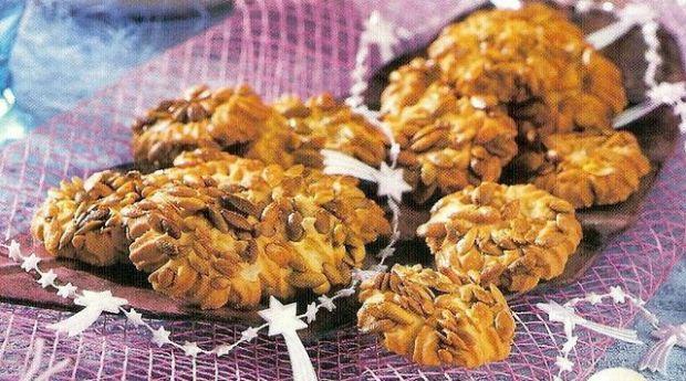 Owsiane ciasteczka z pestkami dyni