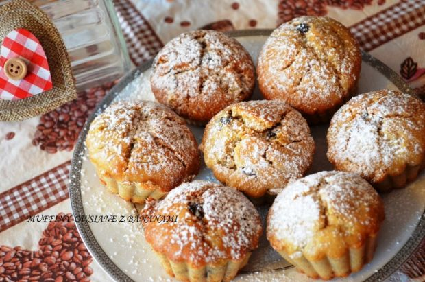 Owsiane muffiny z bananami