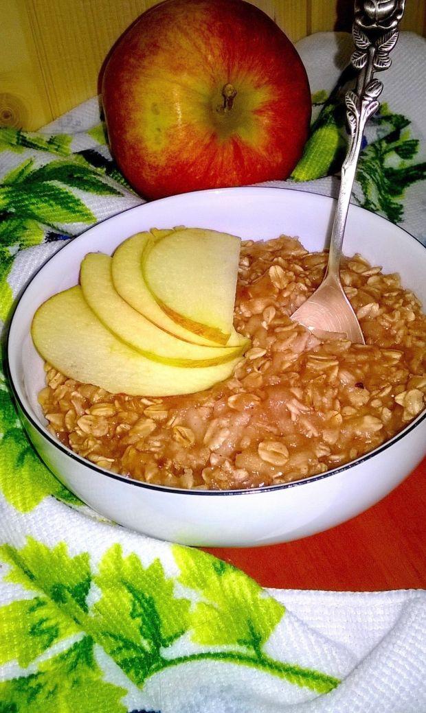 Owsianka na soku jabłkowym