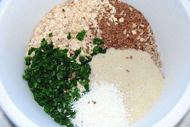 Owsiano- pokrzywowe ciasteczka