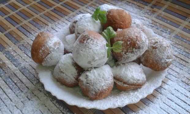 Pączki serowe z kokosem
