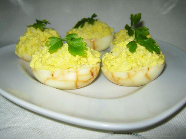 Pajęczynkowe jajka z farszem