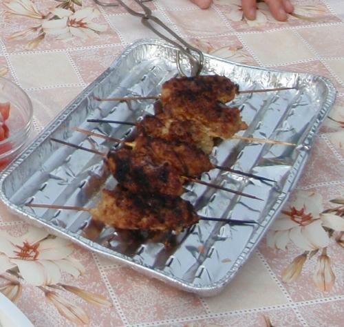 Pałeczki z mięsa mielonego