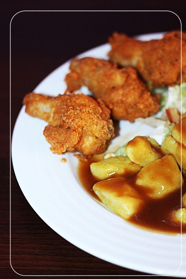 Pałki z kurczaka jak z KFC