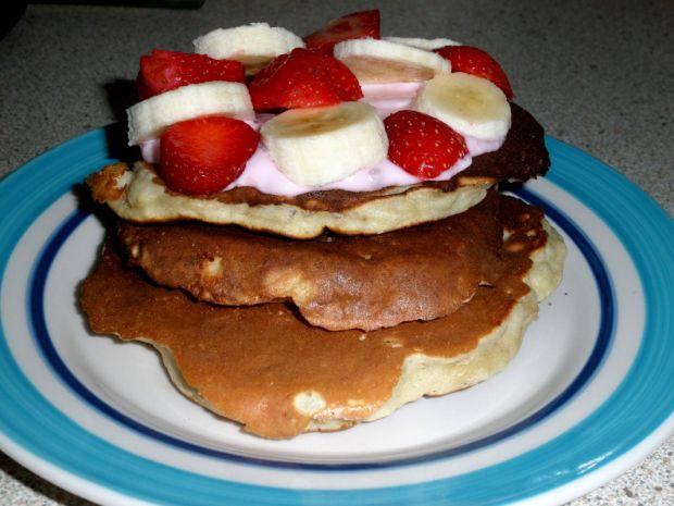 Pancakes z daktylami