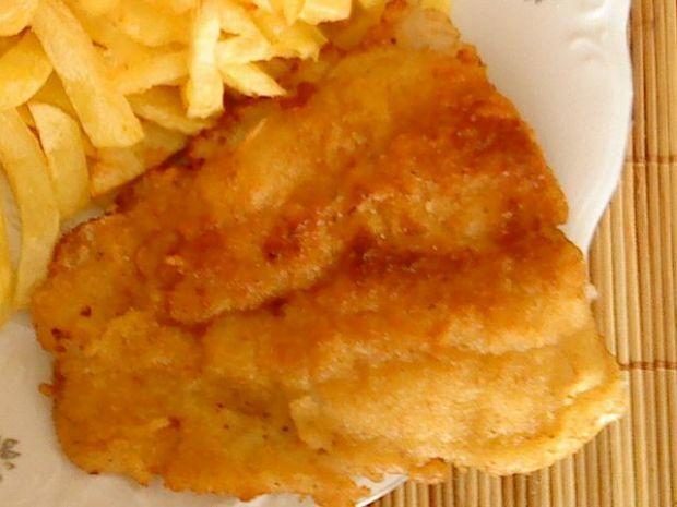 Panierowana rybka