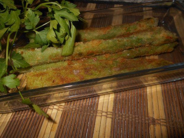 Panierowane szparagi