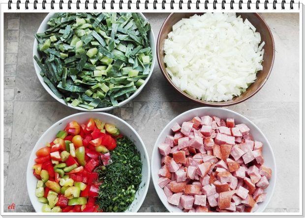 Papryka Eli faszerowana kiełbasą, kapustą i ryżem