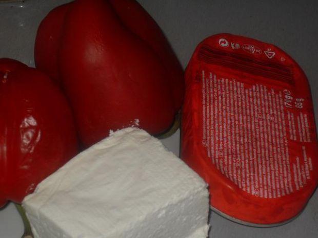 Papryka faszerowana - wigilijna