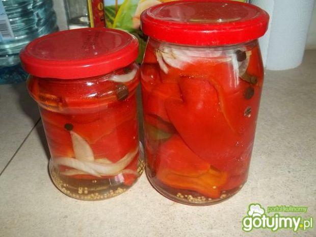 Papryka konserwowa z cebulą 2