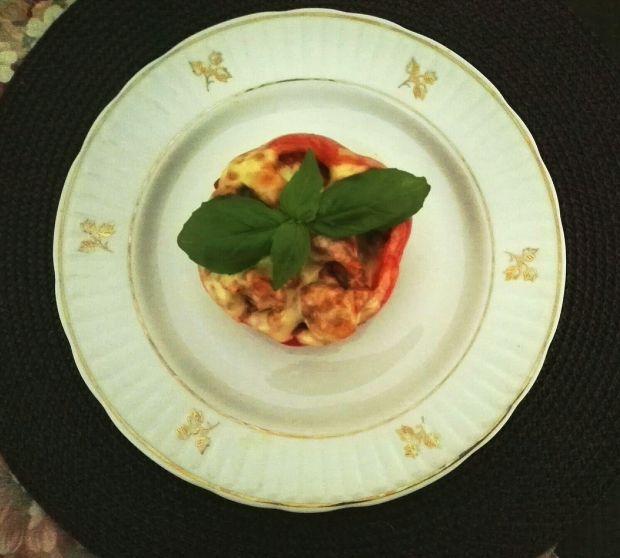 Papryka z farszem a'la bolognese