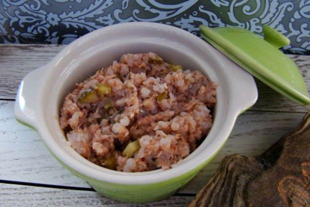 Paprykarz tuńczykowy z kaszą