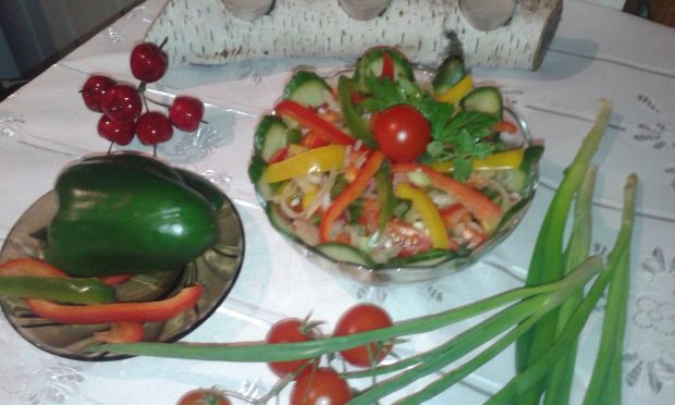 Paprykowa sałatka