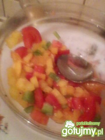 paprykowa z pomarańczą
