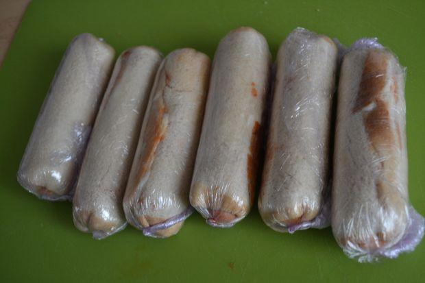 Parówkowe krokiety z chleba tostowego