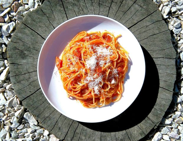 Pasta all`Amatriciana