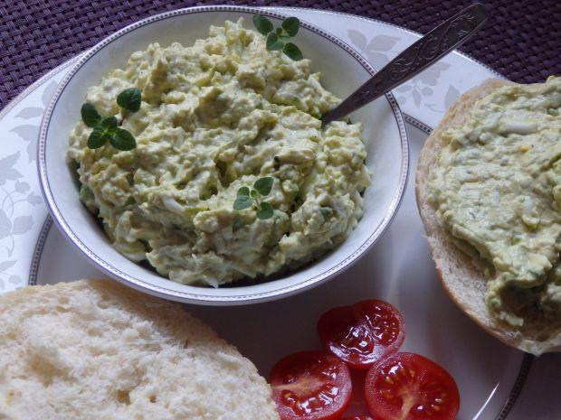 Pasta jajeczna z awokado