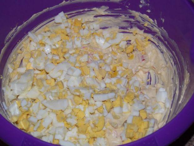 Pasta jajeczna z papryką