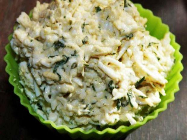 Pasta jajeczna z rzeżuchą i koperkiem